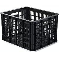 Basil Unisex - volwassenen Crate M fietskist voor de bagagedrager, zwart, 40 cm x 33 cm x 25 cm