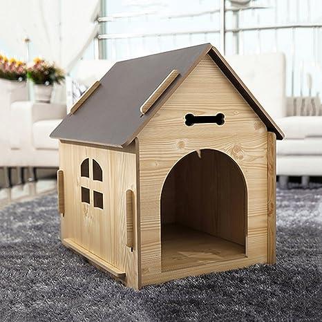 YNZYOG Casa De Mascotas Al Aire Libre Gran Chalet De ...