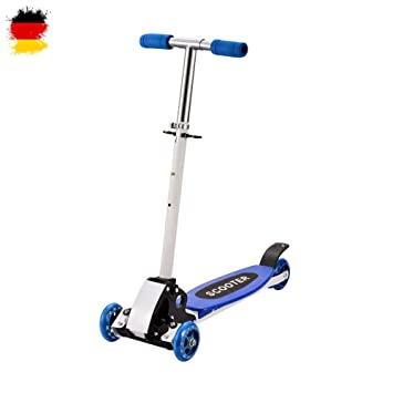 Scooter para niños, Kick Board, Patinete, plegable Roller, fácil, rueda de cuatro nuevo