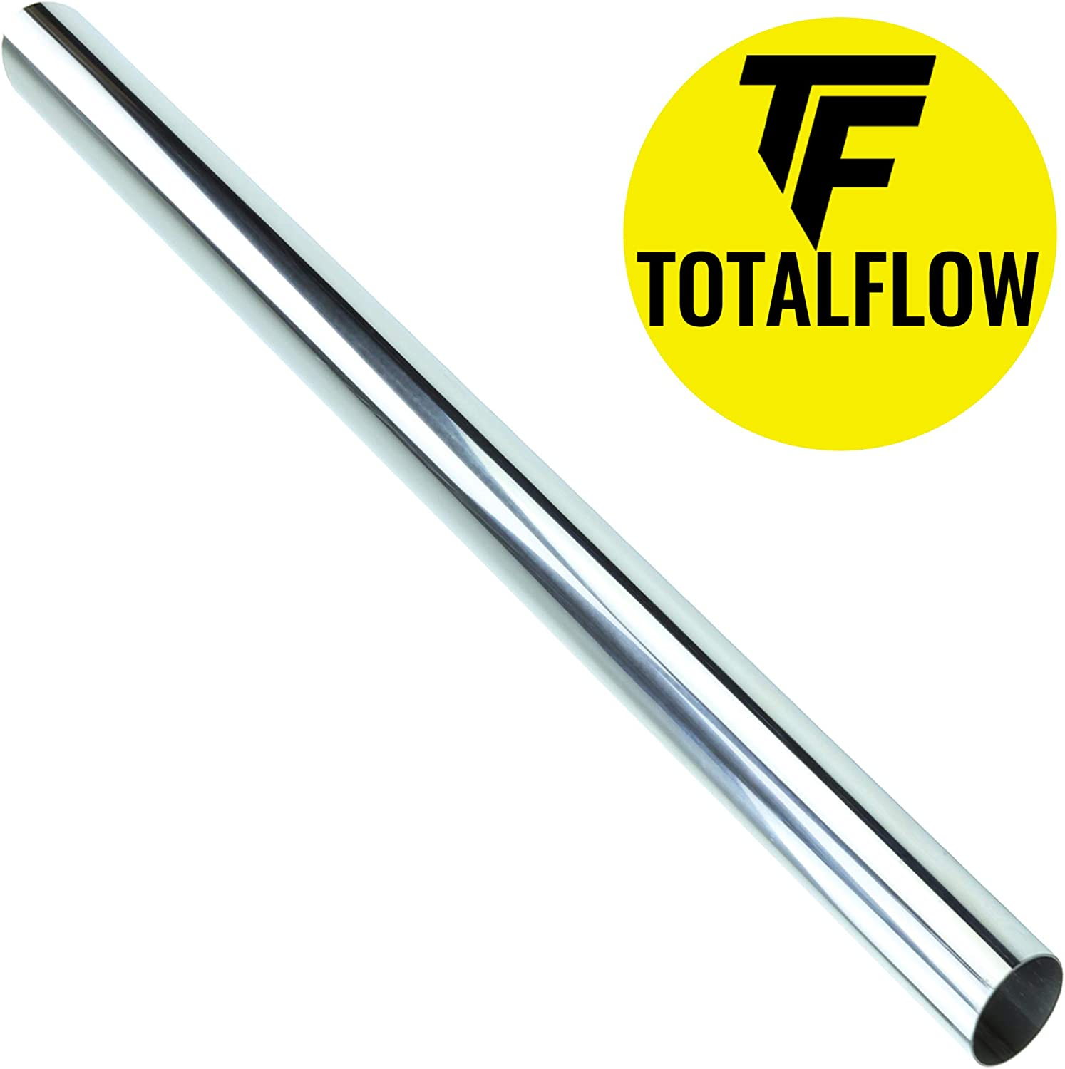4 Inch-OD TOTALFLOW 20 Inch Length 20-304-400-15 Universal Straight Exhaust Pipe Extension 304 Stainless Steel-Tube Replacement
