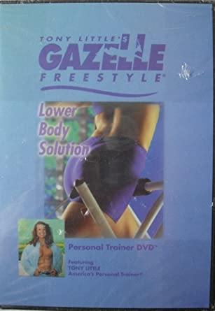 Tony Little Gazelle 3 DVD Set: Lower Body, Personal Trainer, Buttkickin' Workout