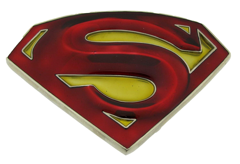 Amazon Mens Red Superman Returns Punk Rock Metal Belt Buckle