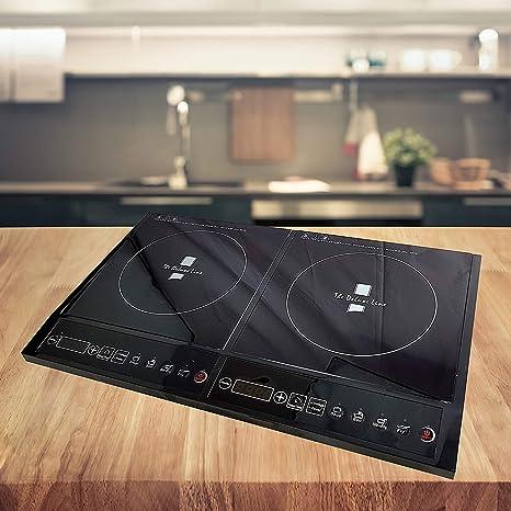Eléctrico Inducción hobs 2200 W Placa de inducción cocina de ...