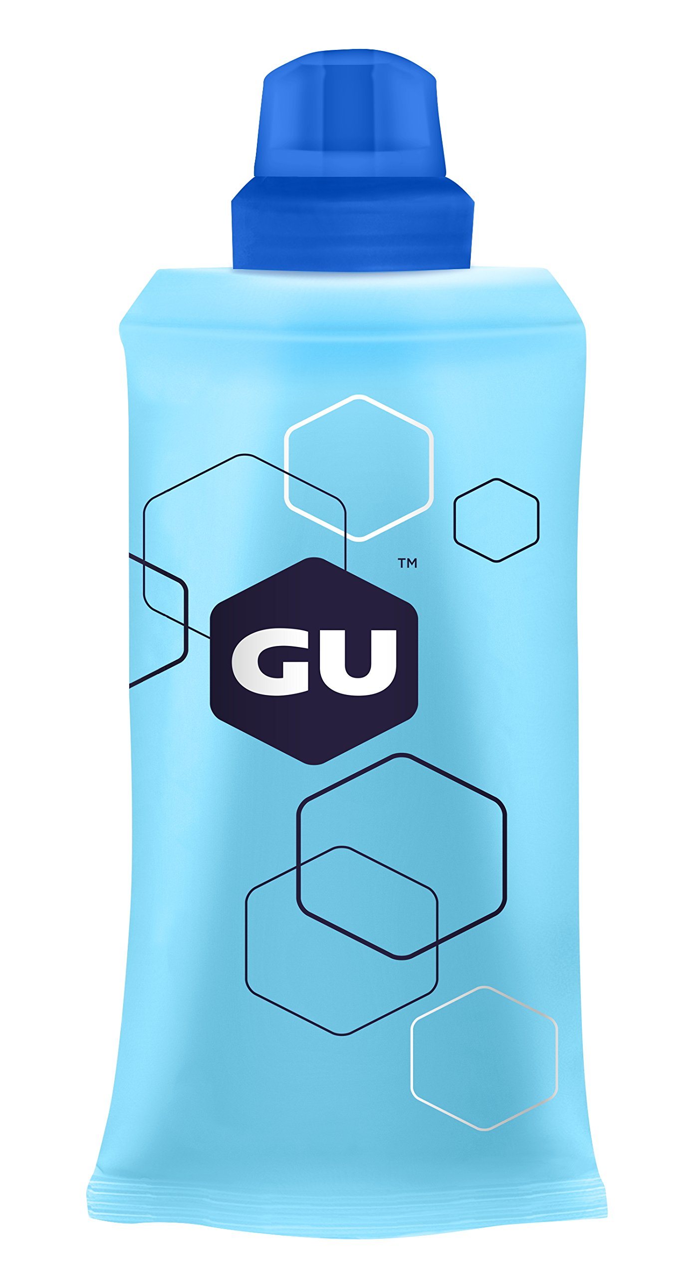 GU Energy Labs Refillable Flask for Sports Nutrition Energy Gel, 5.5 Ounce