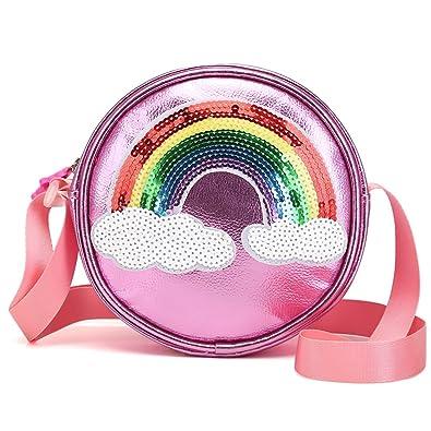Amazon.com: LA CHA - Bolso para niños con purpurina para ...