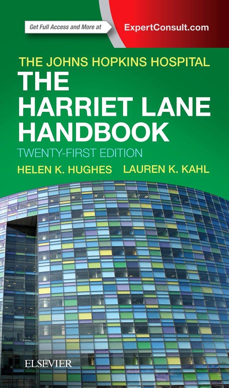 The Harriet Lane Handbook: Mobile Medicine Series by Elsevier