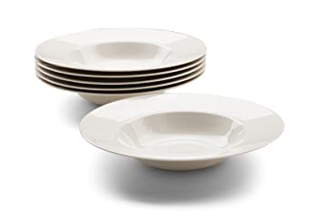 Alessi Soup Plates Set Of 6 O 23 Cm High Grade Porcelain