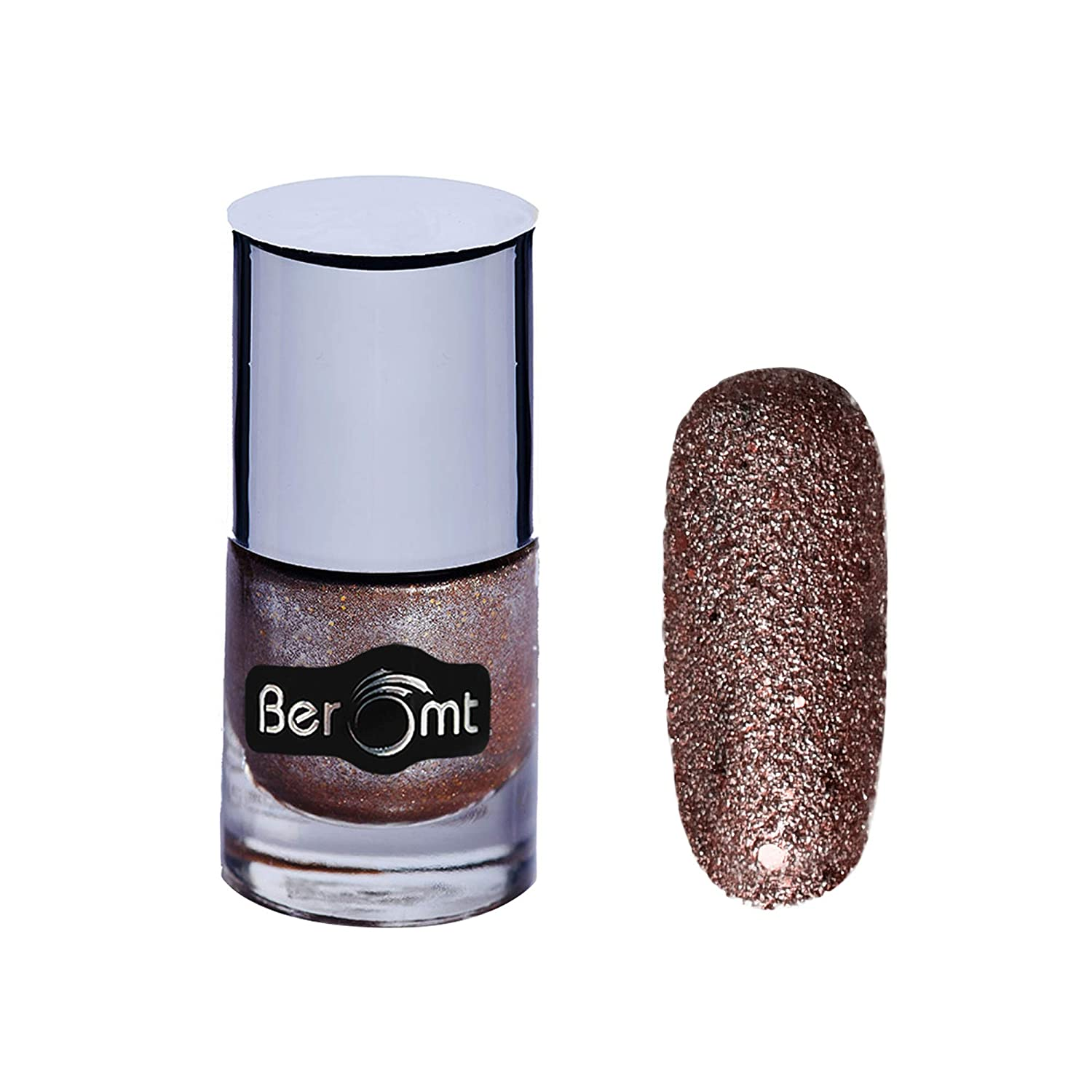 Buy Beromt Sand Nail Polish Gold Leaf 601, 10ml Online at Low Prices ...