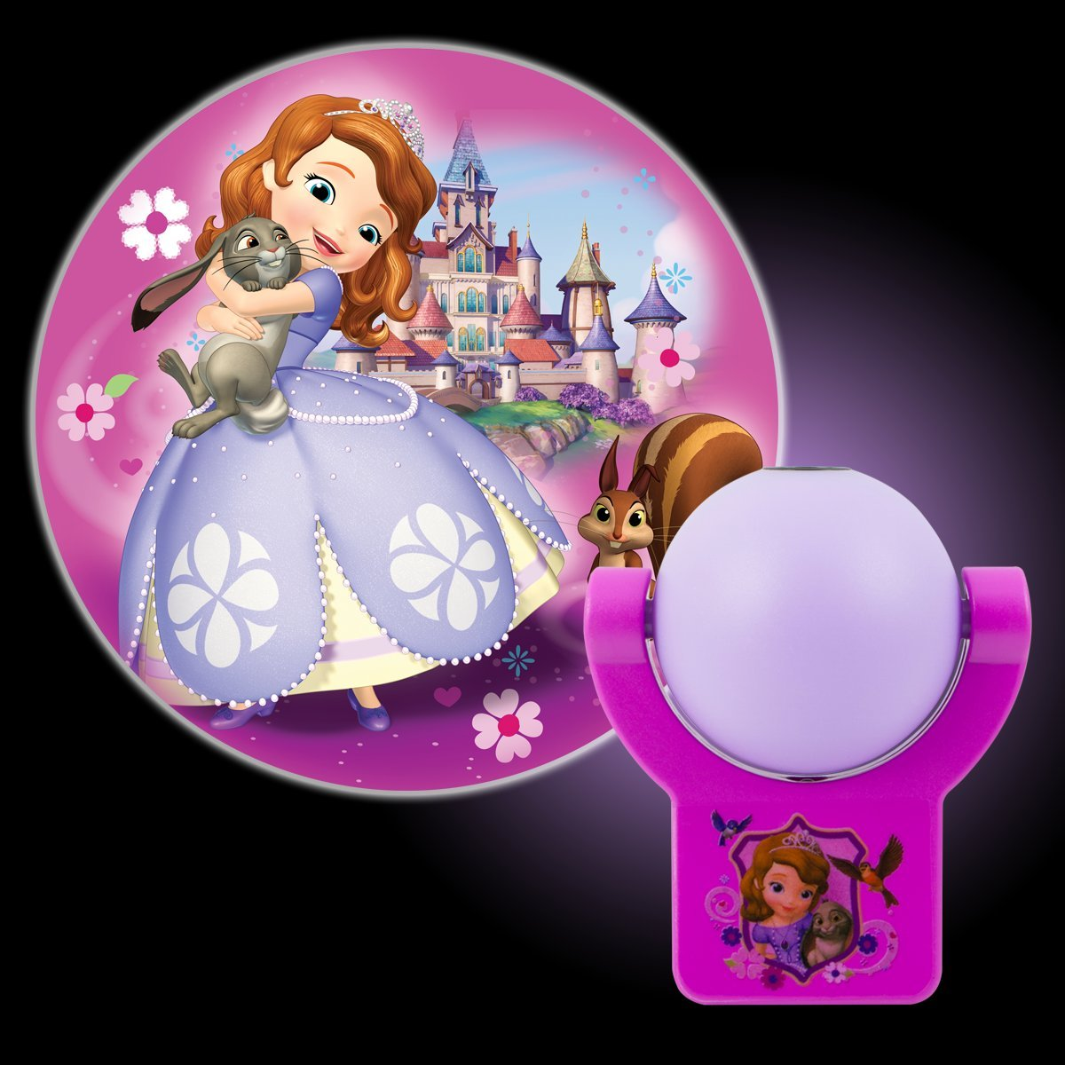 Disney projectables sophia the first led plug in night light disney projectables sophia the first led plug in night light 14529 image projects onto wall or ceiling amazon amipublicfo Images