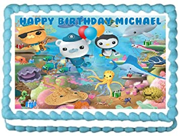 Octonauts Edible Image Cake Topper