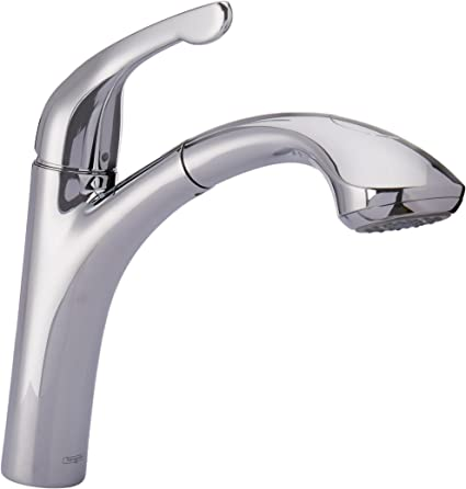 Hansgrohe Allegro E Single-Handle Pull-Out Sprayer Kitchen Faucet in Steel Optik