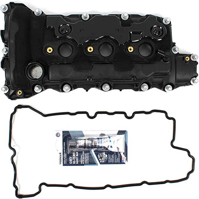 Chevy Traverse//Acadia 09-16 Set 6 Cyl 3.0L//3.6L Eng. Valve Cover Gasket compatible with Cadillac CTS 08-13