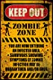 GB eye 61 x 91.5 cm Zombie Keep Out Maxi Poster, Assorted