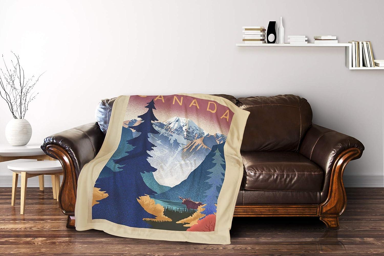 Amazon.com: Canada - Mountain Scene - Lithograph 88200 ...