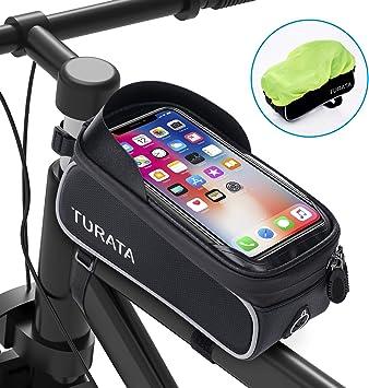 Bolsas de Bicicleta, TURATA Bolsa Impermeable para Bicicleta ...
