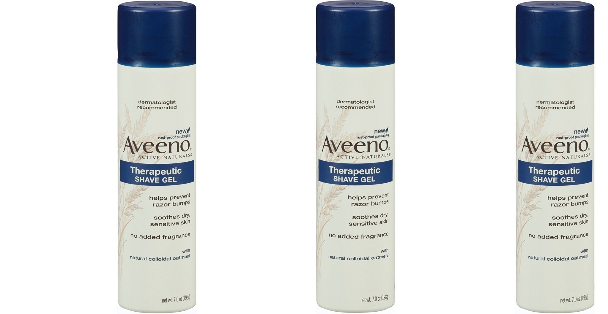 Aveeno Skin Relief Shave Gel qjXDOc, 3 Pack (7 Ounce) by Aveeno (Image #1)