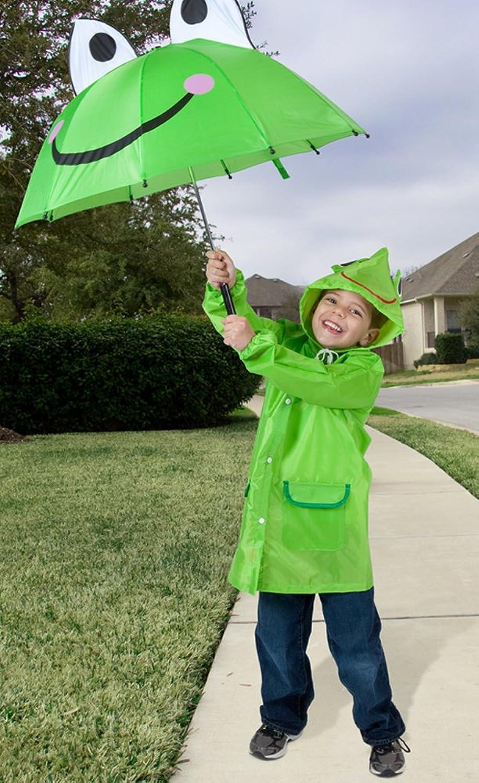 amazon com cloudnine children u0027s frog umbrella full size umbrellas