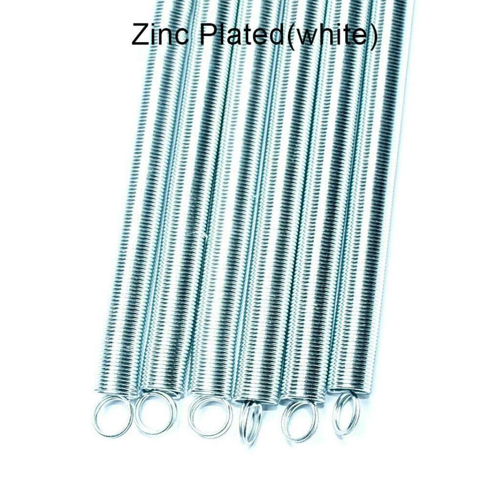 1Pcs 300 Millimetri Molla in Acciaio a Doppio Gancio Lungo di espansione della Tensione della Molla Accessori Hardware Wire Dia 0.5-1.2mm Esterno Dia 3-10mm NO LOGO W-NUANJUN-Spring