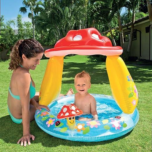 WUYF WYD Kids Baby Inflable Natación Piscina para Niños Pequeños ...