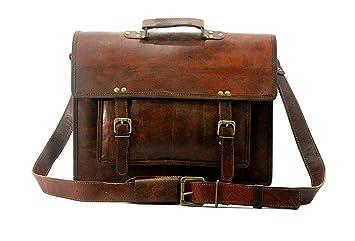 79038825f2 Original Leather Laptop Bag Bagpack Satchel Messenger Bag Office Bag  Briefcase for