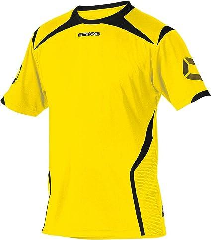 TALLA 152. Stanno Torino K.A.–Camiseta Anthracite de Neon Yellow