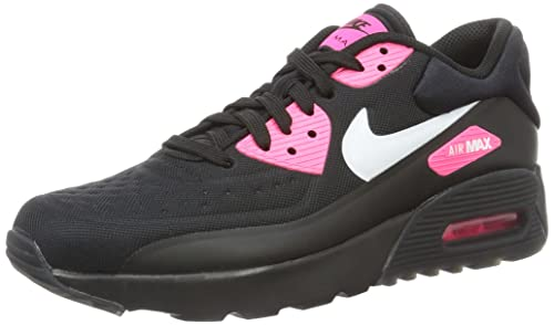 Nike Air MAX 90 Ultra SE (GS), Zapatillas de Running para Mujer, Negro (Black/White-Hyper Pink), 38 EU: Amazon.es: Zapatos y complementos