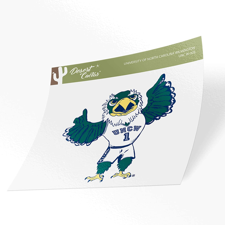 University of North Carolina Wilmington UNCW Seahawks NCAA Vinyl Decal Laptop Water Bottle Car Scrapbook (Sticker - 005)