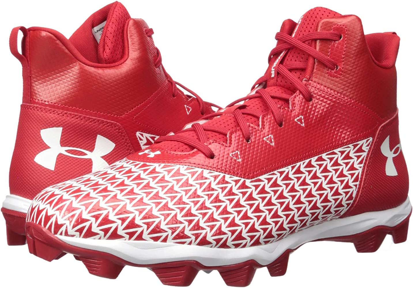 New Under Armour UA Renegade RM Size 14 Men's Football Cleats Style 3000174-002