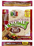 Ole Xtreme Wellness High Fiber Low Carb Wraps, 8ct Packs - 6 Pack Case