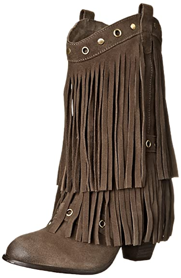 9be9ba456 Amazon.com | Naughty Monkey Women's Kickin It Boot | Mid-Calf