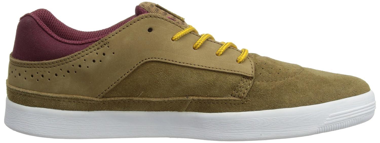 Le Monde Delta - Chaussures De Skate Hommes En Cuir Nubuck Brun - Brun (brun Doré 17174), 12 Au Royaume-uni