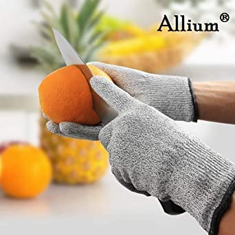 Modulyss Cut Resistant Gloves Protection From Knives Scissors Vegetable Peelers Small