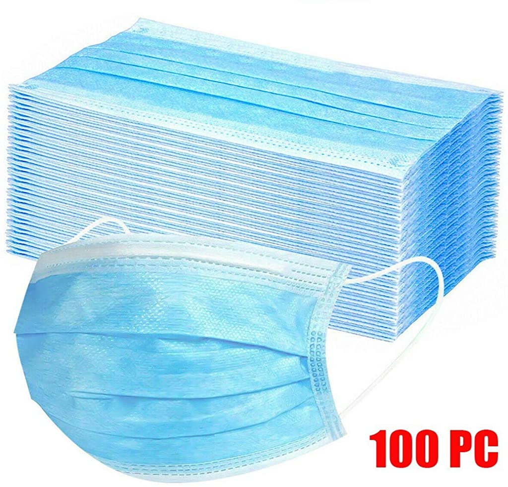 100 piezas de equipo de protecci/ón a prueba de polvo antipolen TOPSELD Protecci/ón personal diaria