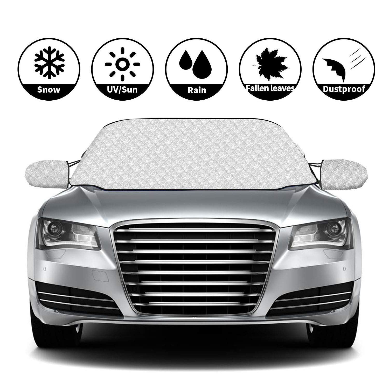 VAUXHALL ASTRA SPORTS TOURER 10-ON MAGNETIC CAR WINDSCREEN COVER