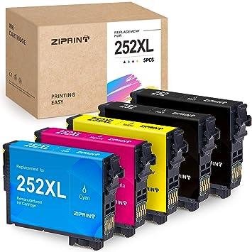 Amazon.com: ZIPRINT - Cartucho de tinta remanufacturado para ...