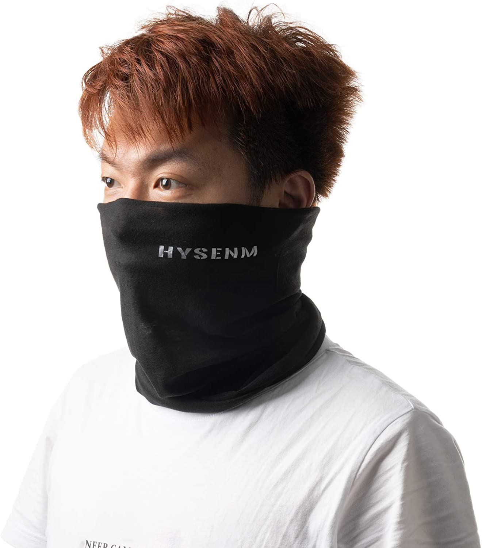 Vagasi Hysenm Seamless Multifunctional Half Balaclava Breathable Bandana Soft Headwear Neck Gaiter