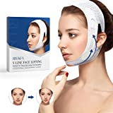 RNEKFA Face Slimming Strap, Double Chin Reducer, V line face lifting belt for improving Sagging skin, Anti Wrinkle and firmin