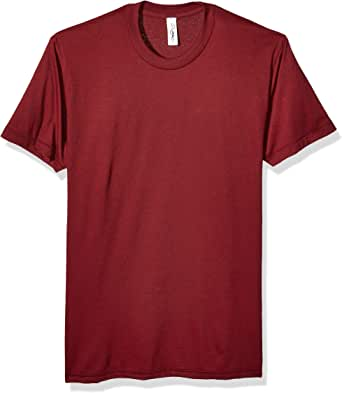 Marky G Apparel Unisex-Adult Mens AMAP-BB401W Poly-Cotton Short-Sleeve Crewneck Short Sleeve T-Shirt