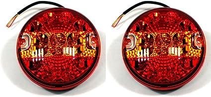 2X LED Rücklichter 12//24V LED Anhänger Rückleuchten PKW LKW Anhänger Beleuchtung