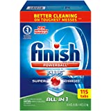Finish Powerball All In 1 Automatic Dishwasher Detergent Tabs Fresh Scent (115 Tabs)
