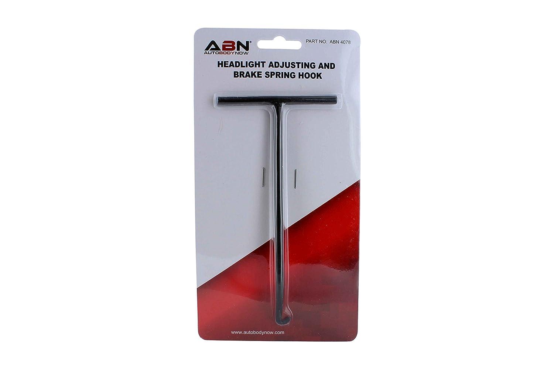 Adjustment Installation Angled Hook ABN Brake Spring Hook /& Headlight Adjuster w// T-Handle Vehicle Springs Removal