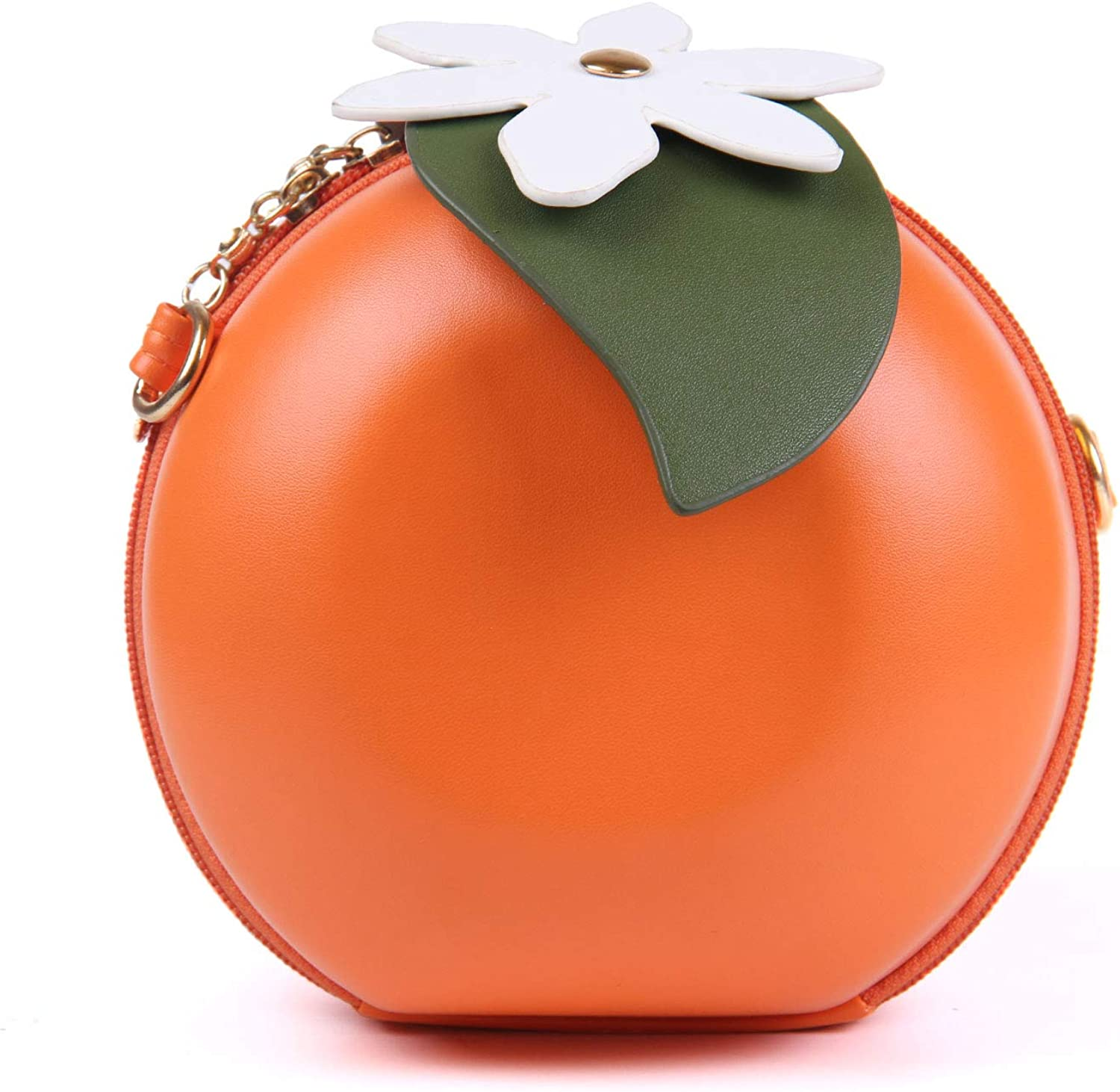 Small Crossbody Coin Purse Pineapple for Women Bags Leather Multicolor Smartphone Bags Purse With Removable Strap