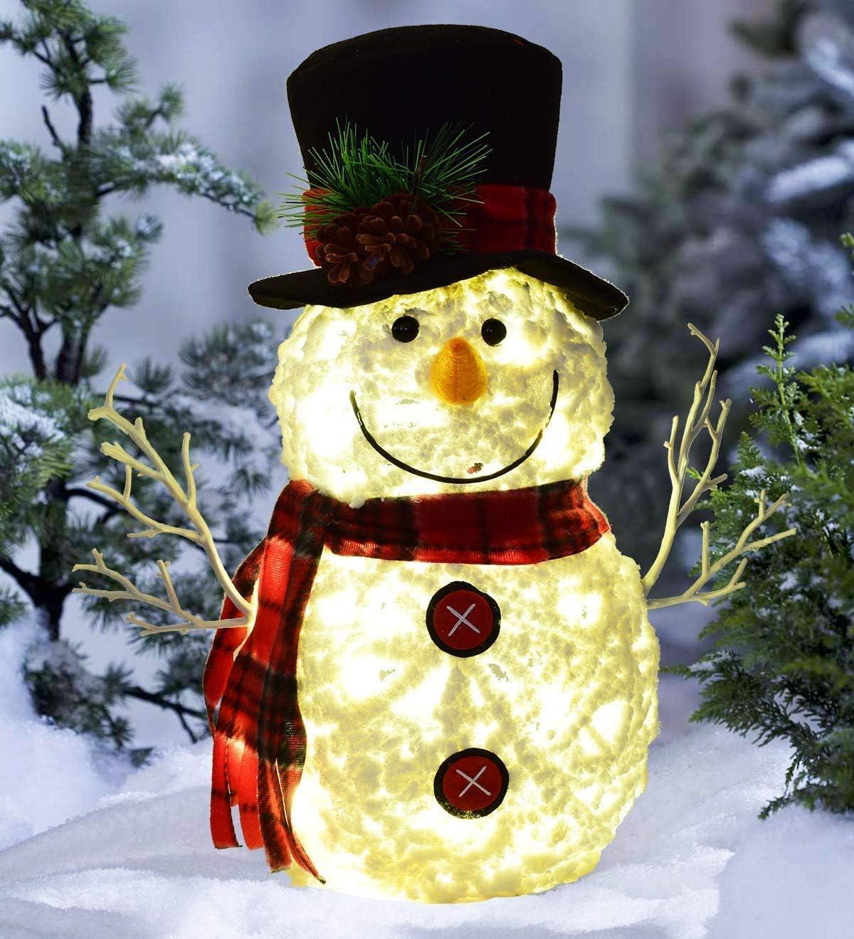 Snowman Light Decoration  Winter Decoration