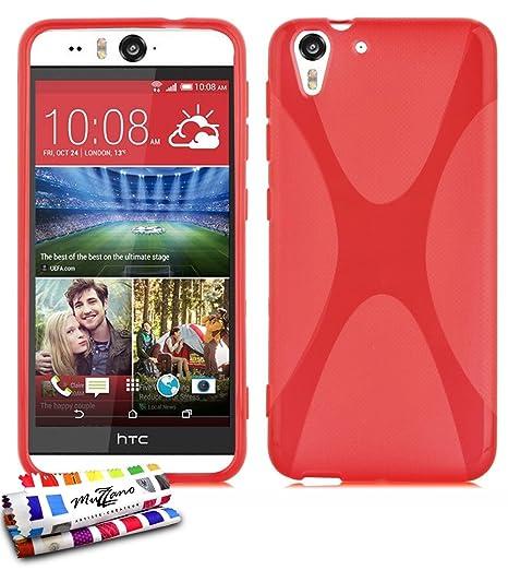Amazon.com: MUZZANO Le X Premium - Carcasa flexible para HTC ...