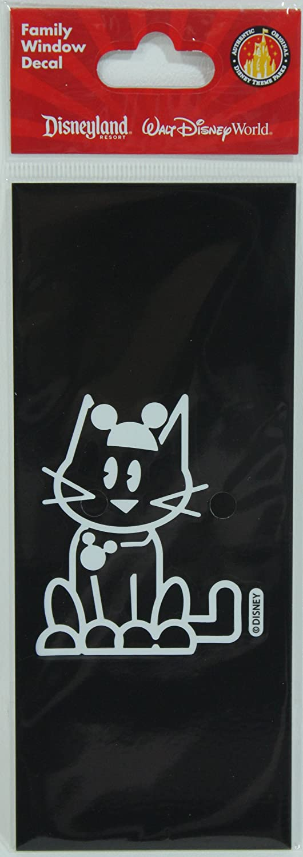 Amazoncom Disney Parks Authentic Family Cat Window Decal Automotive - Family window decals
