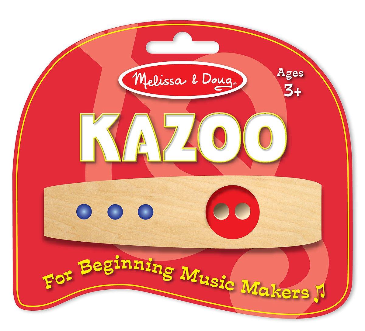Melissa & Doug 1300 Making Music Beginner Wooden Kazoo Melissa and Doug