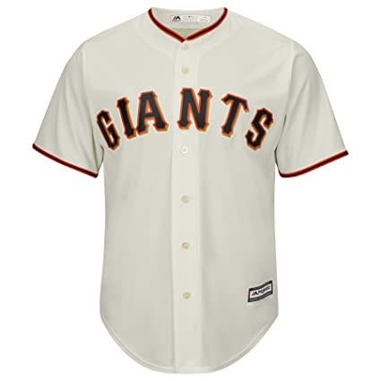 sale retailer e5024 45500 Majestic San Francisco Giants Cool Base Off White Tackle Twill Baseball  Jersey