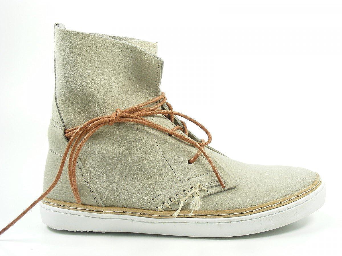 SPM Schuhe Damen Stiefeletten Schnür Stiefel Harta 60666232 Schuhgröße 40;Farbe Beige
