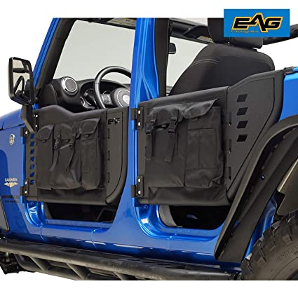 07 >> Amazon Com Eag Pocket Tubular Tube Doors With Mirror For 07 18 Jeep