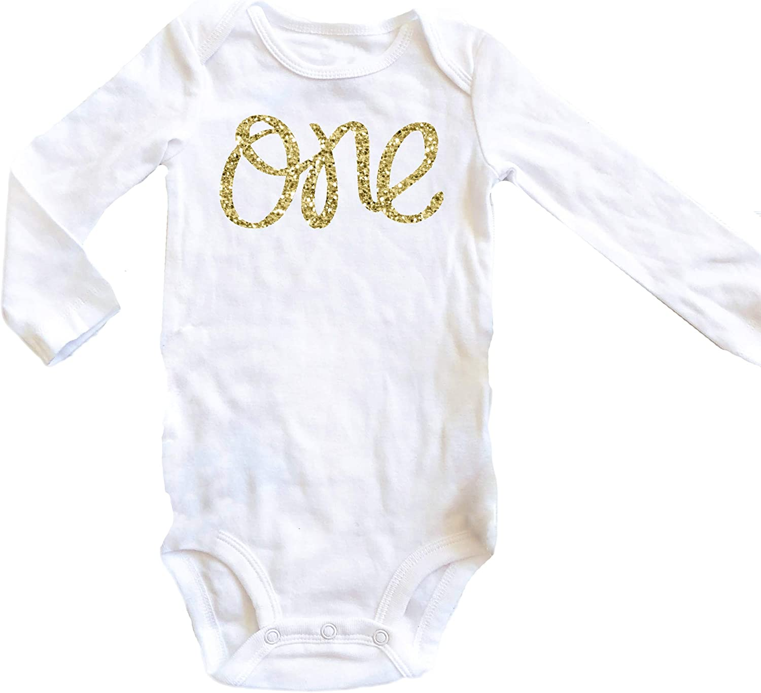 Onepiece Bodysuit gold party Photo Prop First Birthday Set Baby Girl First Birthday Outfit crown royal Bloomers and Headband Set